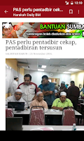 Screenshot of Malaysia News
