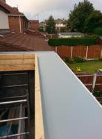 Another GRP Fibreglass roof repairs in Preston