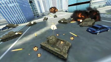 Screenshot of GT Tank vs New York
