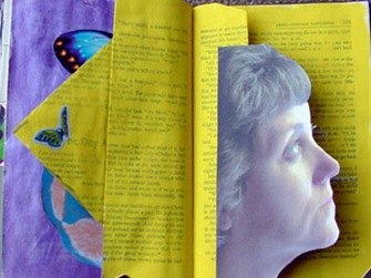 christine-altered-book-page
