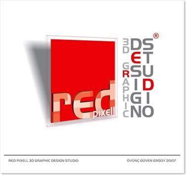 red pixell logo tasarım