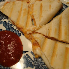 3 Cheese & Crab Quesadillas
