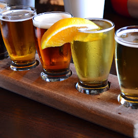 Beer  by Nibia Orona - Food & Drink Alcohol & Drinks ( beer, five, beverage, alcohol, alcoholic beverage, beer sampler, drinks,  )