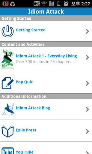Idiom Attack Eng-Kor