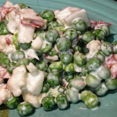 Low Fat Ranch Pea Salad