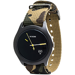 Nixon Quad Watch - Nylon Band (For Men and Women)