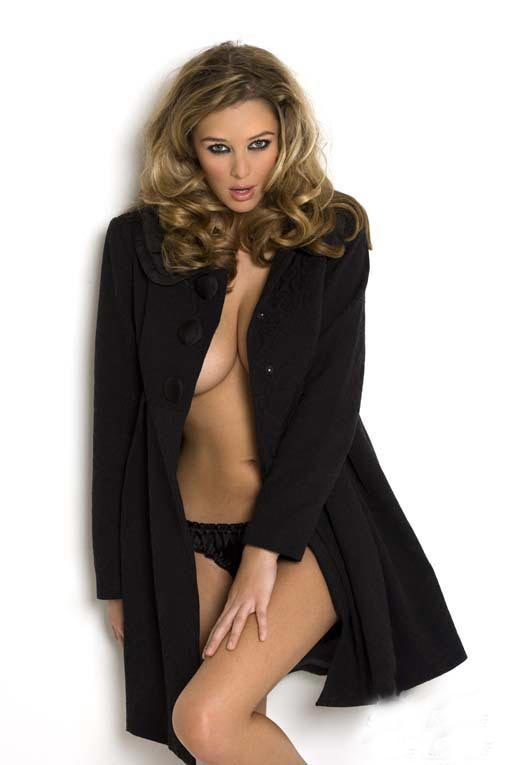 Keeley Hazell' love for retro hairstyles with an added poof is well known in