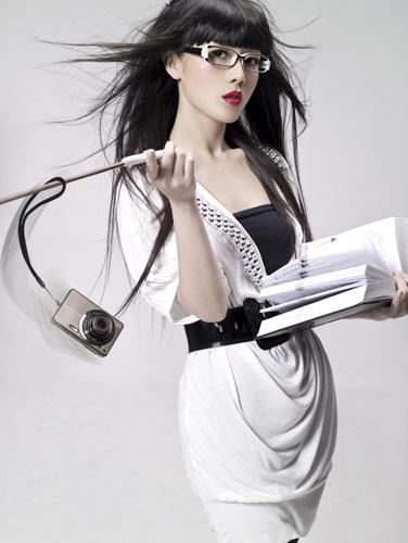 Latest Modern Asian Long Hair style. Korean Hairstyles
