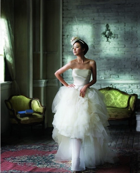 Wedding Korean Star: Han Hyo Joo (한효주)' Wedding Dress Fashion Photos :: Dream