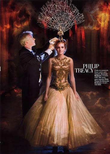 emma watson photoshoot. Emma Watson-The Magic of