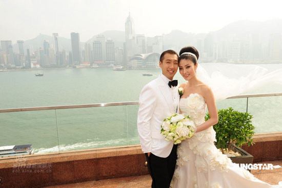 Kelly Chen Wai Lam Wedding Photos