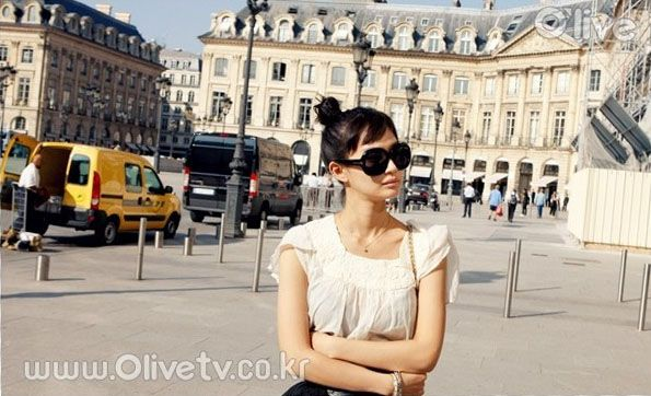 Shin Min Ah French Travel Photos