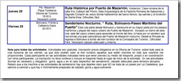 PROGRAMACIÓN SERVICIO DE OCIO 2008-10