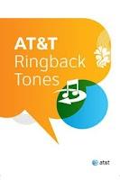 Screenshot of AT&T Ringback Tones