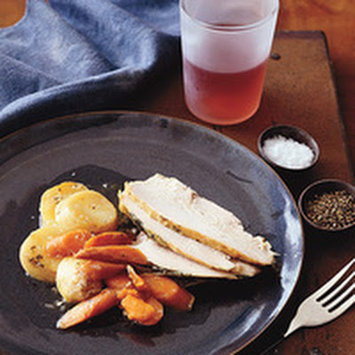 Lemon Sage Turkey with Vegetables