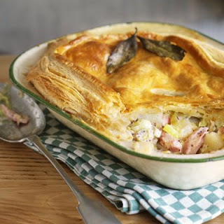 Ham, Leek & Potato Pie