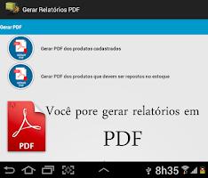 Screenshot of Estoque Fácil - Free