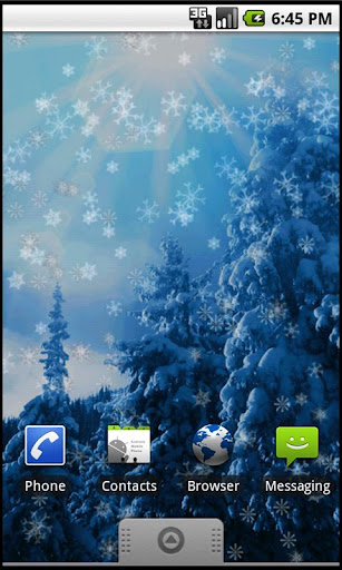 Holiday Snow Live Wallpaper