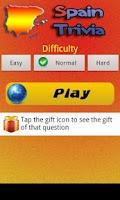 Screenshot of Spain Trivia