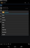 Screenshot of WebDAV Navigator Lite