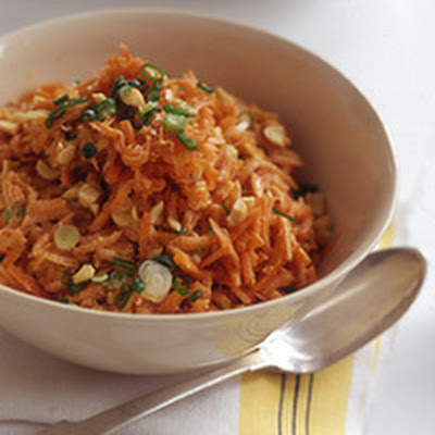 Peanut, Orange and Carrot Salad