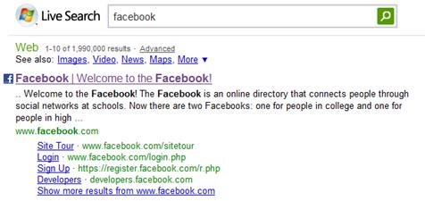 FB Live Search