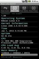 Screenshot of Gadmin for Webmin