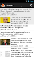 Screenshot of Romania News