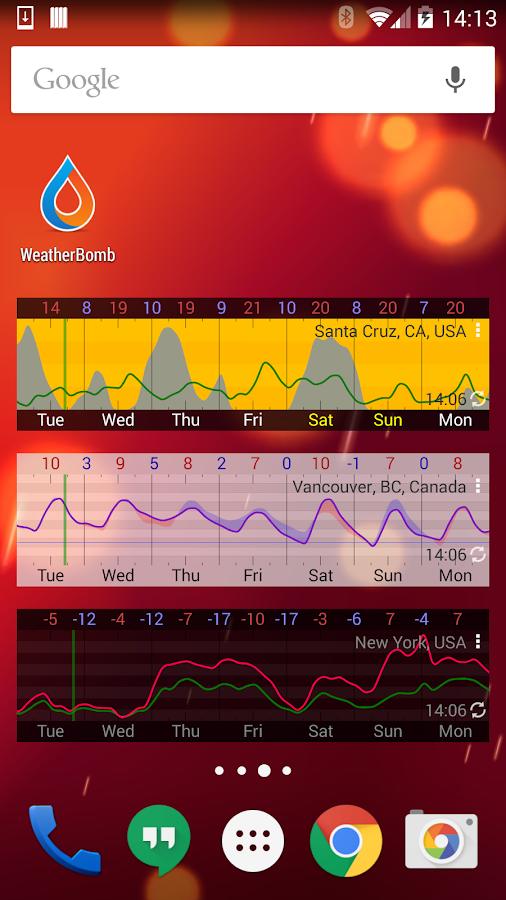 WeatherBomb Screenshot 7