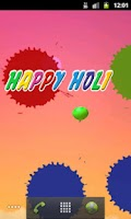 Screenshot of Happy Holi Live Wallpaper