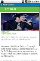 Screenshot of O POVO Online - Smartphone
