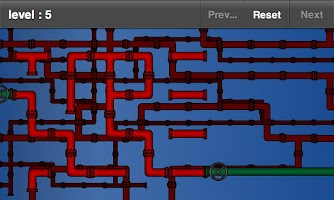 Screenshot of Pipe Puzzle