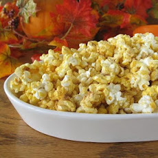 Autumn Pumpkin Popcorn