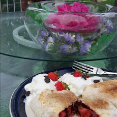 Grilled Chocolate-Raspberry Burritos