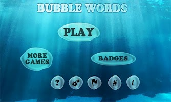 Screenshot of Bubble Words