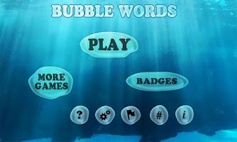 Screenshot of Bubble Words