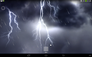 Screenshot of Lightning Storm HD