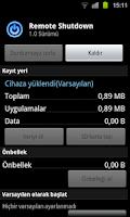 Screenshot of Remote Shutdown Lock Sleep