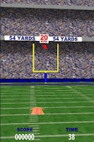 Screenshot of Football FieldGoal Frenzy