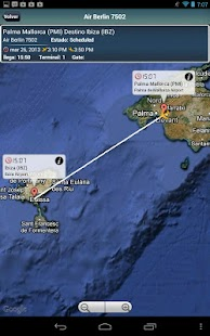 Ibiza Airport + Flight Tracker - screenshot