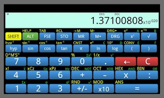 Screenshot of BrainCalc