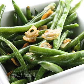 String Beans with Garlic and Oil