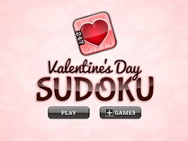 Screenshot of Valentine's Day Sudoku