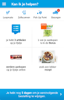 Screenshot of Appie van Albert Heijn