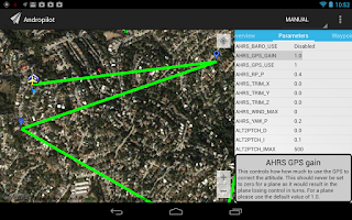 Screenshot of Andropilot