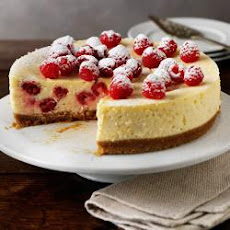 Raspbarry And Lemon Cheesecake