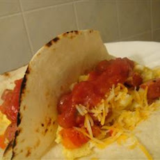 Easy Money Breakfast Burritos