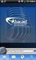 Screenshot of Abacast Mobile Streaming