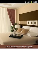 Screenshot of Coral Hotels