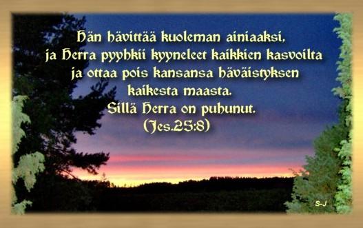 Raamatunlause tälle päivälle